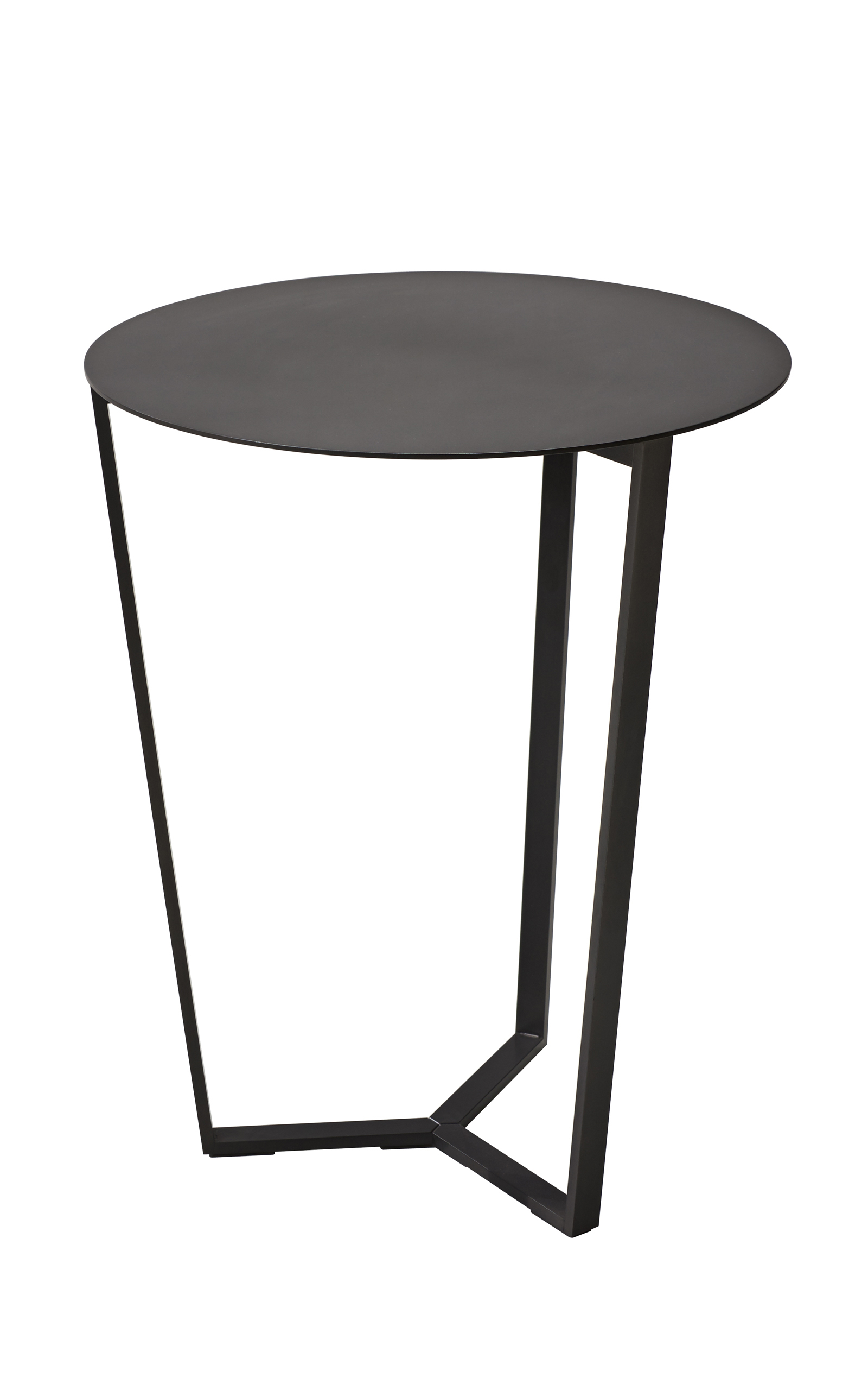 Pero Cm Anthracite Round Side Table